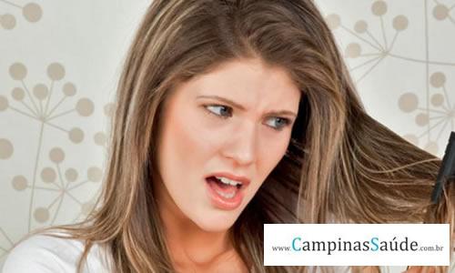 Queda de cabelo e suas causas!